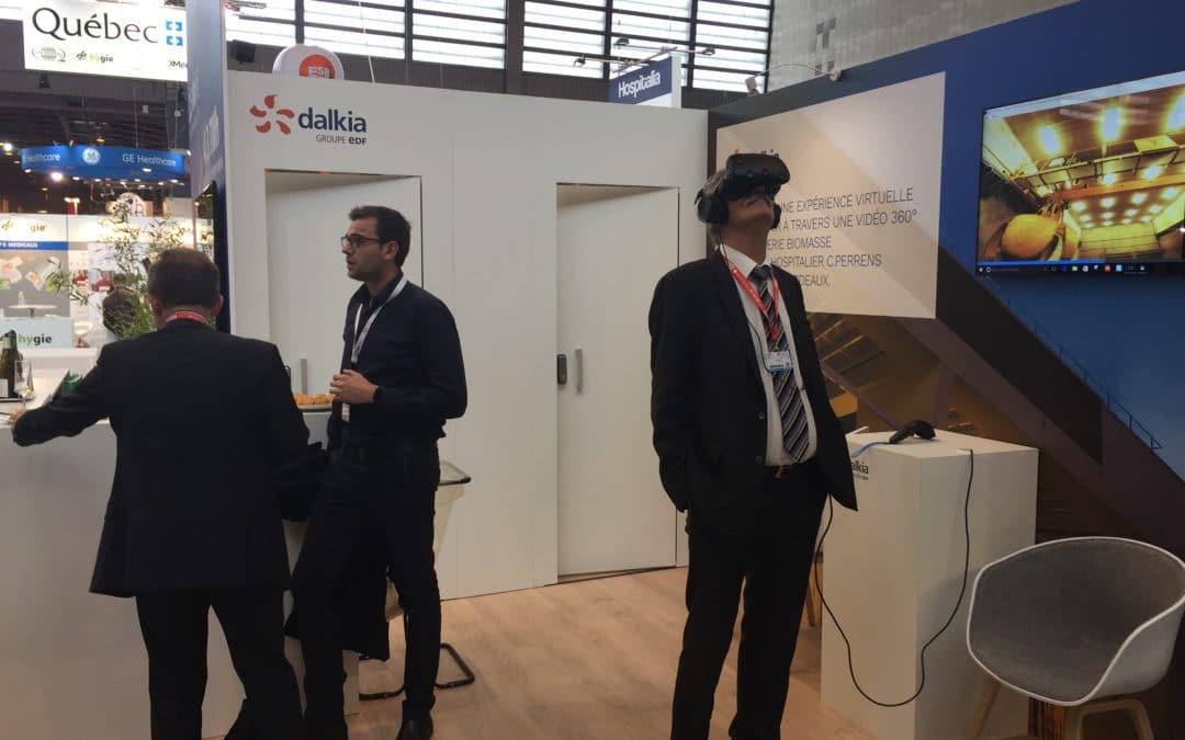Animation de Réalité virtuelle Dalkia