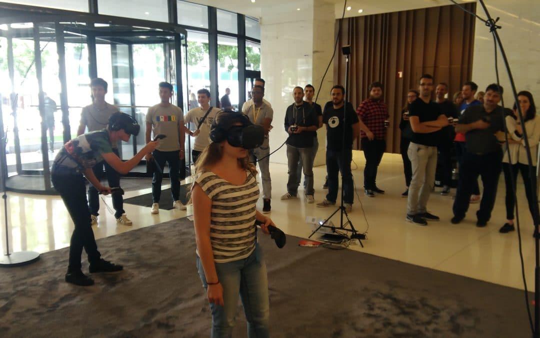 Animation évènementielle réalité virtuelle Webedia