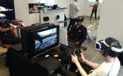 Animation de réalité virtuelle Le Slip Français