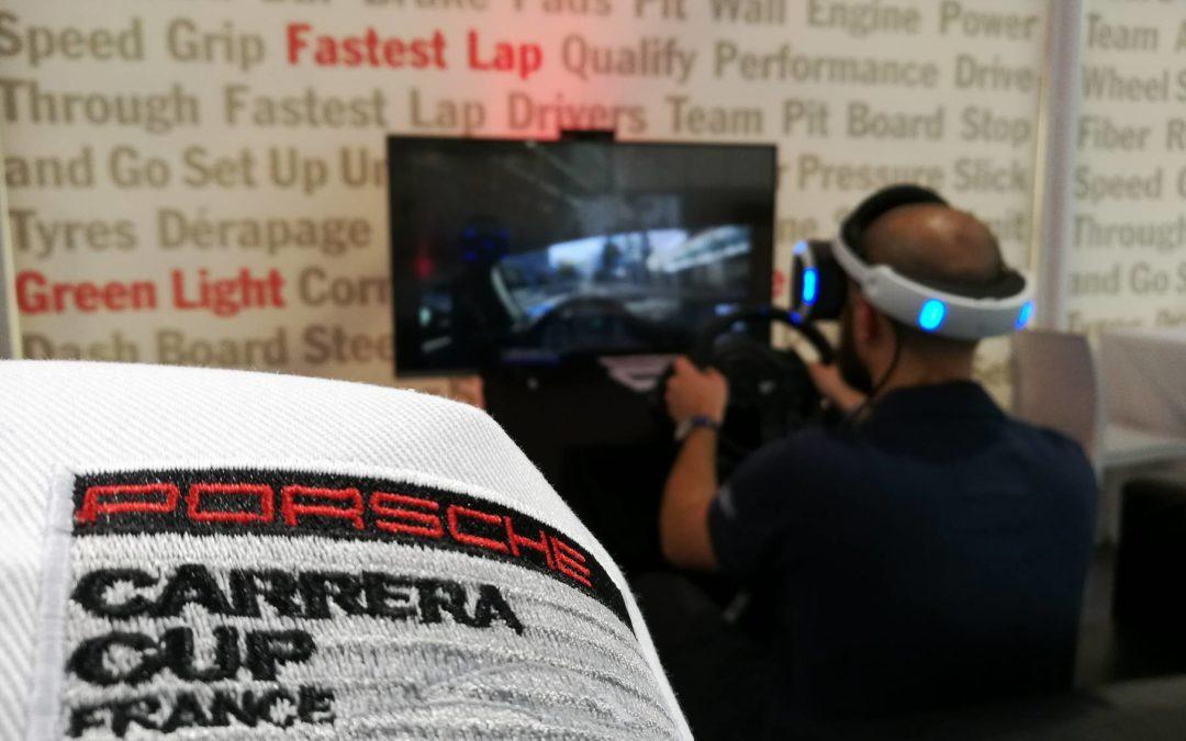 Animation réalité virtuelle Toulouse – Porsche Carrera Cup