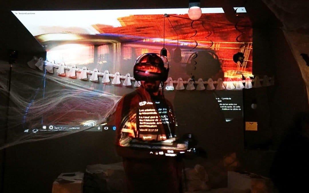 Halloween Fright Night Party – soirée Réalité virtuelle Toulouse – Ekito