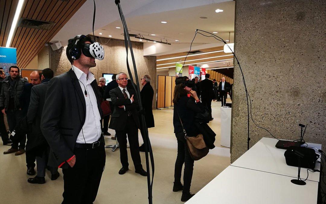 Animation de réalité virtuelle – Présentation du Desc au Grand Lyon