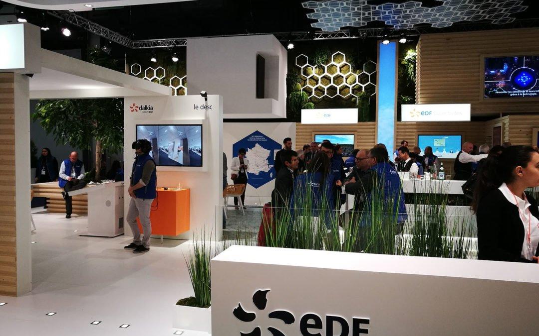Animation casque réalité virtuelle – Salon des Maires EDF