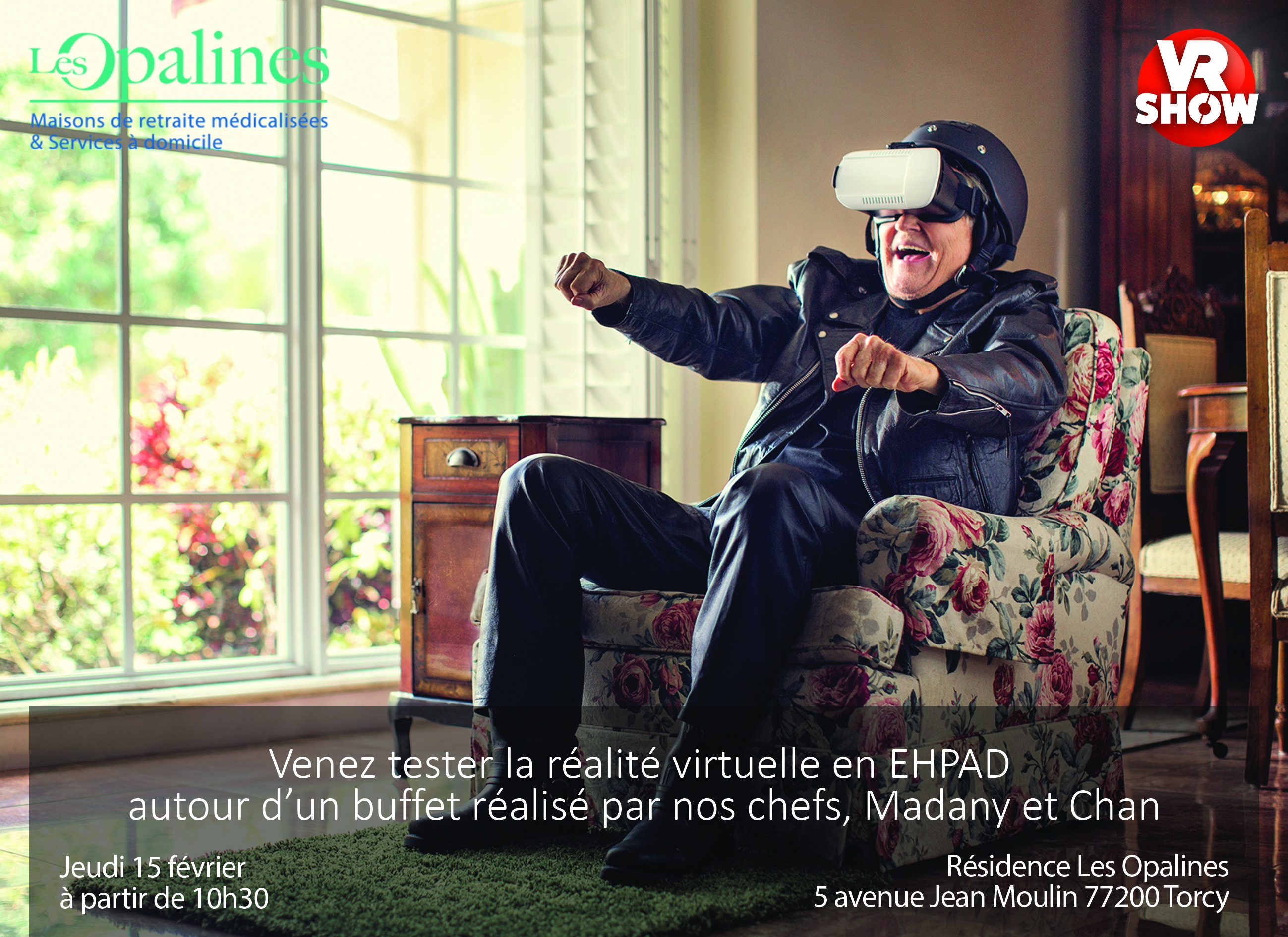 Animation réalité virtuelle Maison de retraite