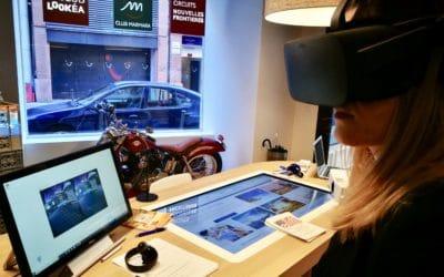 Réalité virtuelle – Agence de voyage