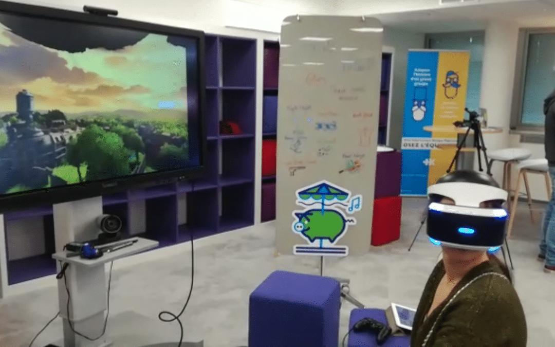 Animation réalité virtuelle – Banque Populaire