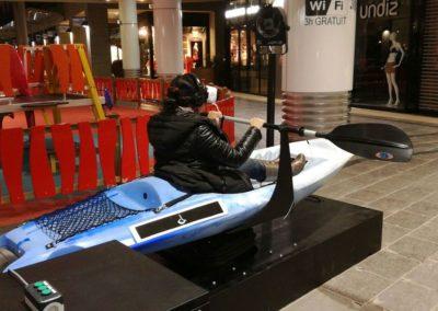 Animation Kayak Realite Virtuelle Casque VR