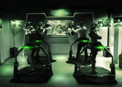 Animation Simulateur Tir VR multijoueur