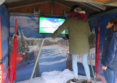 Animation Ski Montagne Realite Virtuelle