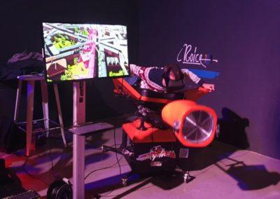 Animation VR Show Simulateur Wingsuit