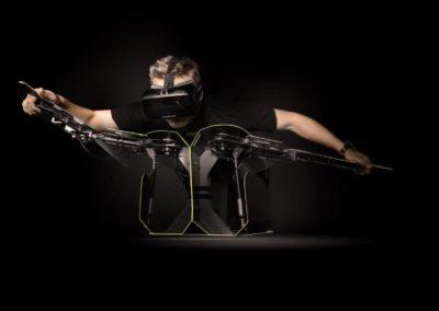 Animation evenement simulateur wingsuit