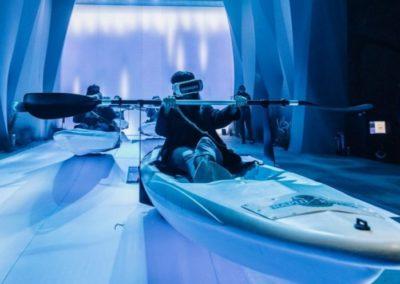 Animation simulateur Kayak VR