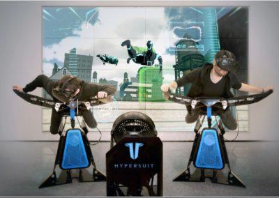 Animation simulateur de vol VR
