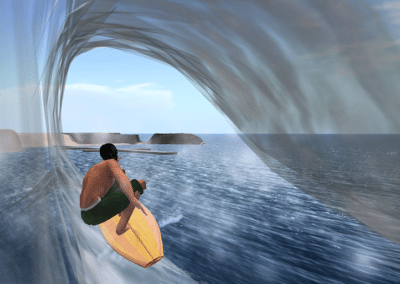 Experience Surf Realite Virtuelle
