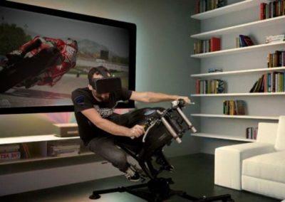 Moto simulateur realite virtuelle VR