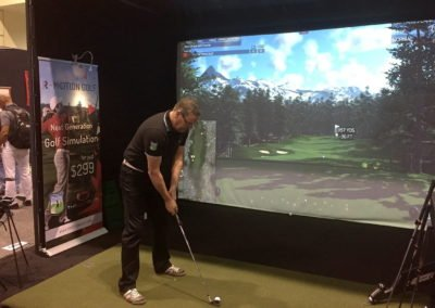 Simulateur Golf Animation Evenementielle