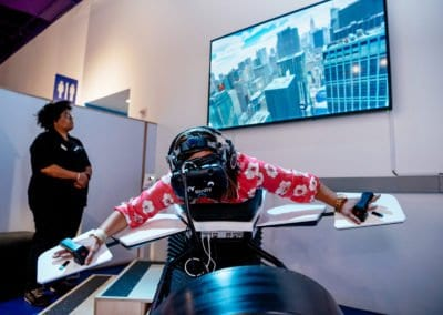 Simulateur Wingsuit VR HTC Vive