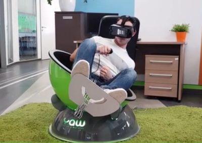 Simulateur siege realite virtuelle