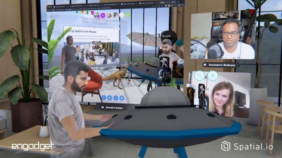 D couvrez Spatial application de conf rence virtuelle avec ZOOM3