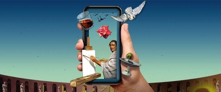 La visite virtuelle du mus e Salvador Dali en Floride 5
