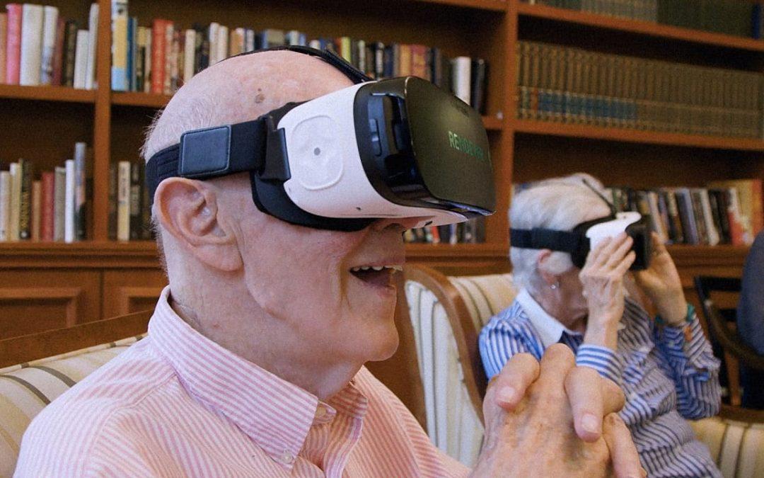 Les casques de réalité virtuelle en EHPAD