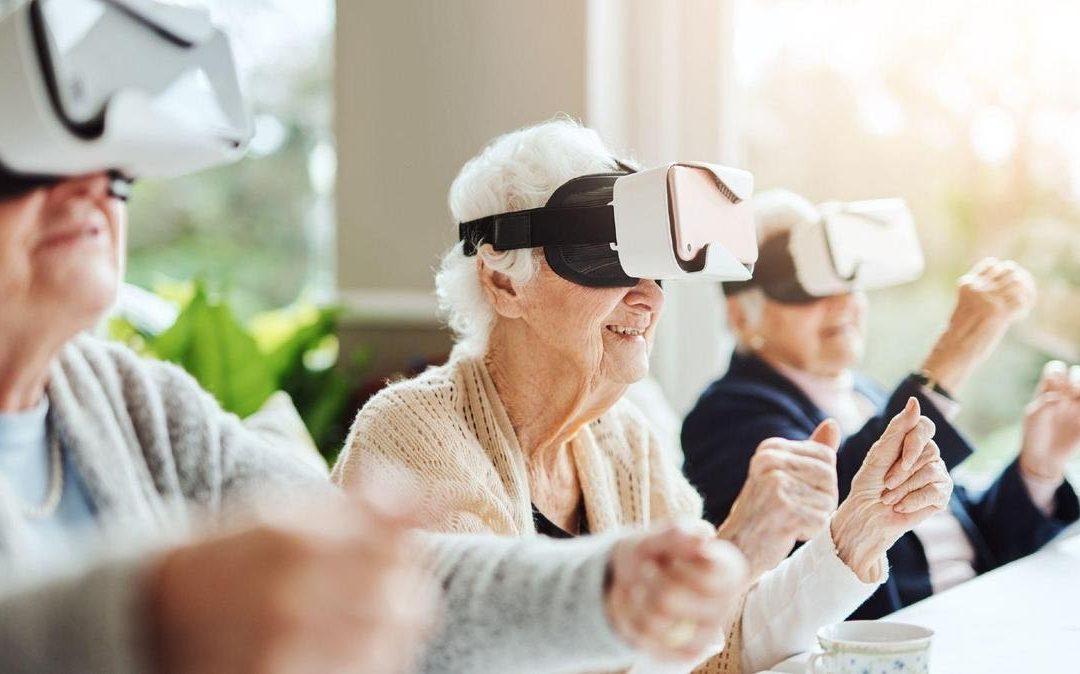Casques de réalité virtuelle et soins palliatifs